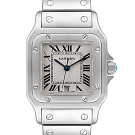Cartier Santos Galbee Stainless Steel Mens Watch W20060D6