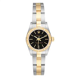Rolex Oyster Perpetual Steel Yellow Gold Ladies Watch 76233 Box Papers