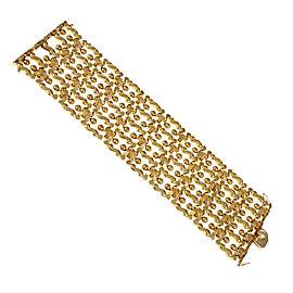 18K Rose Gold Italian Bracelet