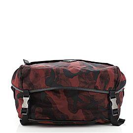 Prada Camouflage Convertible Pocket Belt Bag Tessuto Medium