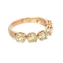 18k pink gold Diamond Ring