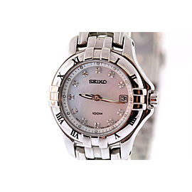 Seiko SXDA31 Stainless Steel Quartz 26mm Womens Watch