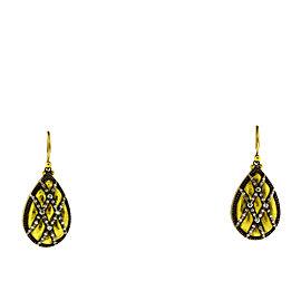 Gurhan 24K Yellow Gold Diamond Earrings