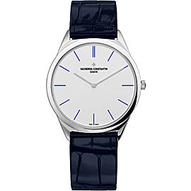 Vacheron Constantin Historiques 33155/000P-B169 Platinum 950 and Leather with White Dial 36mm Womens Watch