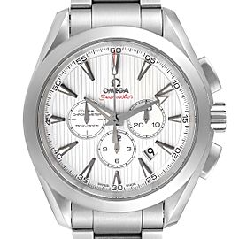 Omega Seamaster Aqua Terra Chrono Steel Mens Watch