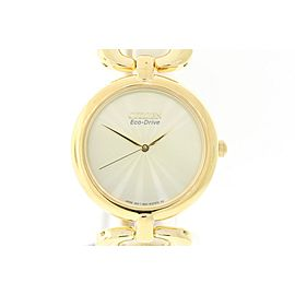 Citizen EM0222-58P Gold Tone Stainless Steel 34mm Womens Watch