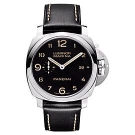 Panerai Luminora Marina PAM 00359 1950 Black Dial Mens Watch