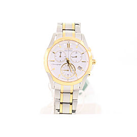 Citizen FB1114-51A Stainless Steel & Yellow Gold Plated 35mm Womens Watch