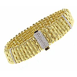 Roberto Coin 18K Yellow Gold Appassiona Bracelet