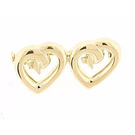 Tiffany & Co. Paloma Picasso Heart Brooch