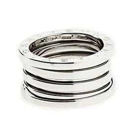 Bulgari B.zero 18K White Gold Band Ring Size 5.5