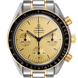 Omega Speedmaster Steel 18K Yellow Gold Automatic Watch 3310.10.00