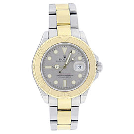 Rolex Yachtmaster 16623 18K Yellow Gold 40mm Mens Watch