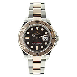 Rolex Yachtmaster 116621 Stainless Steel and 18K Rose Gold Chocolate Dial 40mm Watch