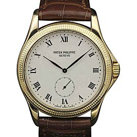 Patek Philippe Calatrava 5115J Yellow Gold 35mm Unisex Watch