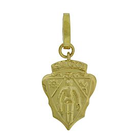 Gucci Stemma 18K Yellow Gold Pendant