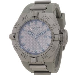 Invicta Subaqua 1156 Stainless Steel Grey Dial Quartz 50mm Mens Watch