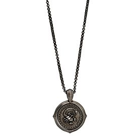 Stephen Webster 925 Sterling Silver Astro Flip Coin Zodiac Scorpio Necklace