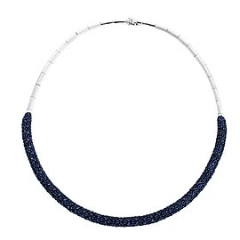 Effy 14K White Gold 14.07ct Sapphire Necklace