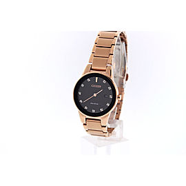 Citizen GA1058-59Q Rose Gold Tone Stainless Steel & Diamond Accent 30mm Womens Watch