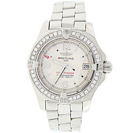 Breitling Colt Oceane A77380 Stainless Steel 33mm Womens Watch
