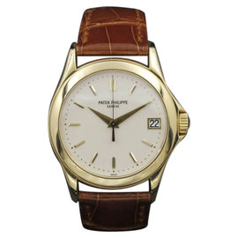 Patek Philippe Calatrava 5107J Yellow Gold White Dial 37mm Unisex Watch