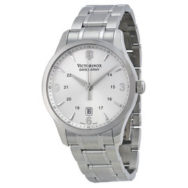 Victorinox Swiss Army Alliance 241476 Stainless Steel & Silver Dial 40mm Mens Watch