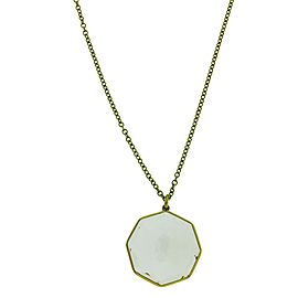 Ippolita Rock Candy 18K Yellow Gold with Quartz Pendant Necklace
