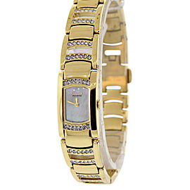 Citizen EG2732-51D Gold Tone Stainless Steel & Mother of Pearl Dial 14mm Womens Watch