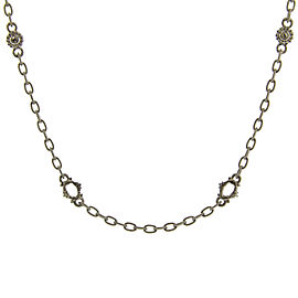 Judith Ripka Sterling Silver White Sapphire Oasis Necklace