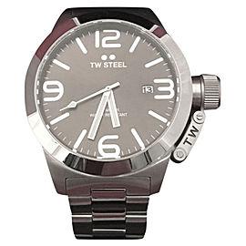 TW Steel Grandeur TS1 Stainless Steel 45mm Mens Watch