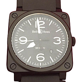 Bell & Ross BR03-92-CBL-04015 Ceramic & Black Dial 42mm Mens Watch