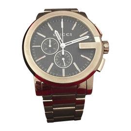 Gucci 101XL CH YA101204 Stainless Steel Mens Watch