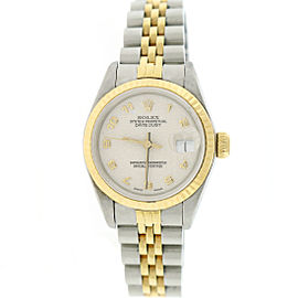 Rolex Datejust 69173 Stainless Steel Automatic 26mm Womens Watch