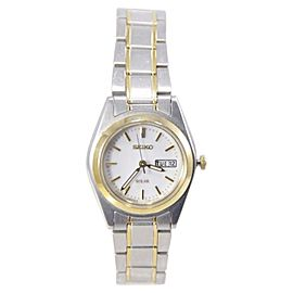 Seiko SUT108 Two Tone Stainless Steel Quartz 25mm Womens Watch