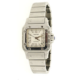 Cartier Santos Galbee 2423 Automatic Stainless Steel 24mm Womens Watch
