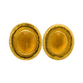 Gurhan Muse 24K Yellow Gold with Citrine Golden Post Earrings