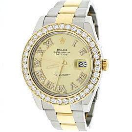 Rolex Datejust II 116333 18K Yellow Gold & Stainless Steel Automatic 41mm Mens Watch