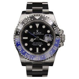 Rolex GMT-Master II 116710BLNR Stainless Steel Black & Blue 40mm Mens Watch 2017