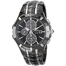 Seiko Coutura Chronograph SSC199 Mens 43mm Watch