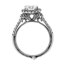 Verragio White Gold Diamond Engagement Ring Size 6.25