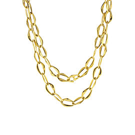 Tiffany & Co. Elsa Peretti 18K Yellow Gold Toggle Necklace