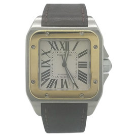 Cartier Santos XL W20072X7 38mm Mens Watch