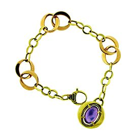 Chimento 18K Rose Gold Amethyst, Mother Of Pearl, Pearl Bracelet