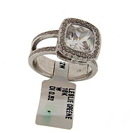 Leslie Greene Diamond Engagement Ring