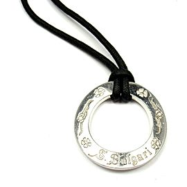Bulgari Bvlgari Save the Children Sterling Silver Pendant Necklace