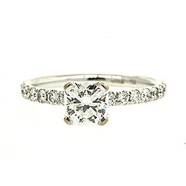 Hearts On Fire 1.52ct 18k White Gold Diamond Engagement Ring 1.02 G VS2 Dream