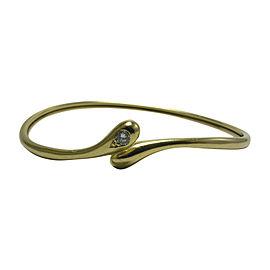 Cartier Juste un Clou Bracelet 18K Yellow Gold 0.06ctw. Diamond