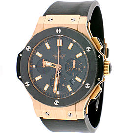 Hublot Big Bang Rose Gold Chronograph 44mm 301 301.PM.1780.RX Watch w/Box&Papers