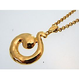 Yves Saint Laurent Vintage Gold Tone Necklace